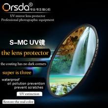 Orsda 37 40.5 46 49 52 58 62 67 77 82 86mm HD UV Filter MRC UV  For Sony Pentax Nikon Canon EOS 650d
