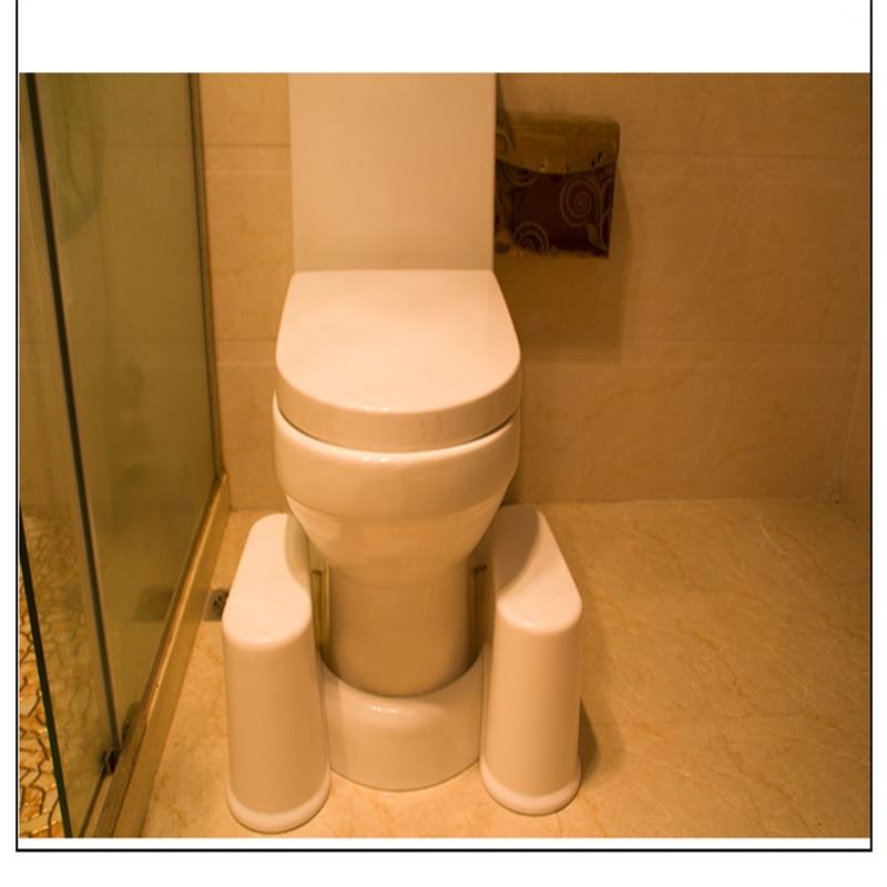 Remarkable 2Pcs Newest Removable Toilet Stool Non Slip Squat Toilet Machost Co Dining Chair Design Ideas Machostcouk