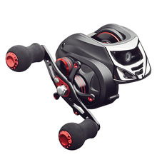 Metal 17bb Baitcasting Fishing Reel 7.0:1 Bait Casting Reels Left Right Hand Fishing One Way Clutch Reel Saltwater Ocean shishamo bc150 18bb left hand right hand fishing bait casting reel with one way clutch high speed 6 3 1 ultra light