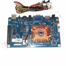 2448 で 1 ゲームコンソール PCB 3D アーケード機ボードサポート VGA 、 HDMI HD ビデオゲームコンソールパンドラ宝