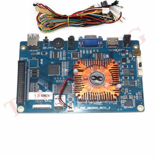 2448 ב 1 משחק קונסולת PCB 3D ארקייד מכונה לוח תמיכת VGA HDMI עבור HD וידאו משחקי קונסולת פנדורה אוצר