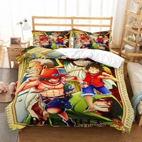 MUSOLEI 3D Bedding Set ONE PIECE Soft Bed Duvet Cover Set Twin/Full Queen Size