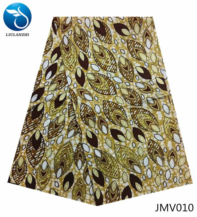 African Wax Print Fabric Ankara 6 Yards