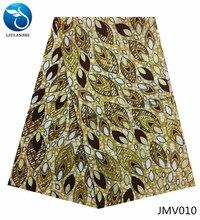 LIULANZHI 6 yard wax fabric ankara african real print animal patterns 2018 JMV001-013