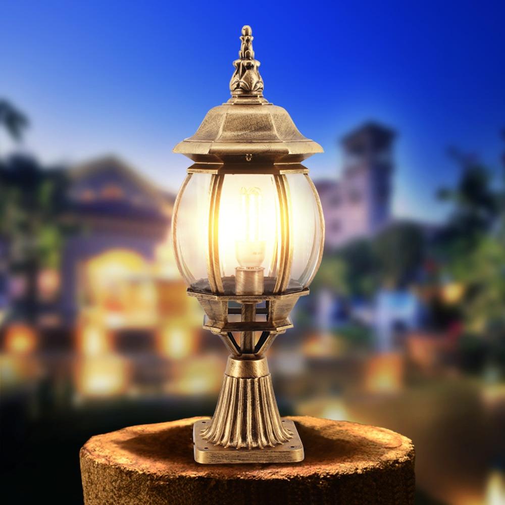 цена на European outdoor lights retro Garden light courtyard lights garden lights outdoor villas wall lamp waterproof lamp led LU809113
