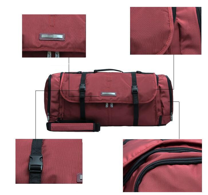 19d7c94e29 Business Travel Suit Pocket Leisure Suit Bag Suit Carrier DustProof Cover  Garment Bag Man Portable Folding Suit Bags-in Travel Bags from Luggage    Bags on ...