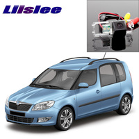 Liislee Car Rear View Camera For Skoda Roomster 5J 2006~2014 Ultra HD camera automobile rearview imag For Fans | CCD + RCA