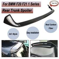 FOR BMW F20 F21 1 Series Full Carbon Fibre Material M Performance AC Car Rear Trunk Lip Spoiler With Tape