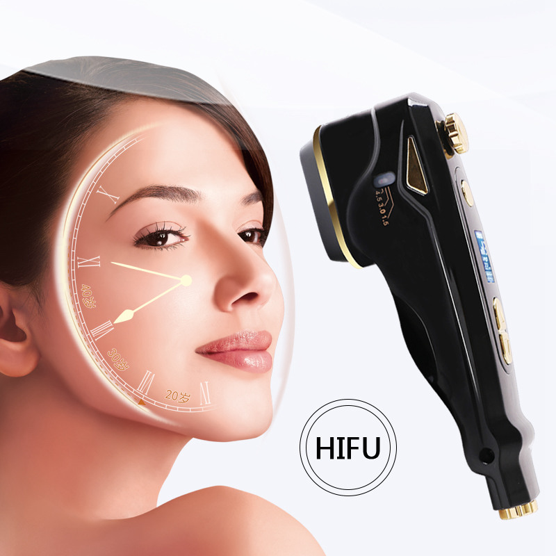 Image 3 - MINI HIFU Multifunctional Skin Care Ultrasonic beauty For Facial Beauty Instrument Facial Rejuvenation Anti Aging/Wrinkle-in Powered Facial Cleansing Devices from Home Appliances