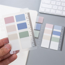 Creative Transparent Spiral Notebook Index Pages 6 Holes Planner Dividers Post it Notepads Planner Stickers Memo Pad Note Sticky newyes a4 reusable smart erasable notebook waterproof white wirebound spiral cloud flash storage notebook memo note pad with pen