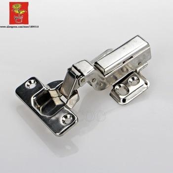 50 шт. нержавеющая сталь 304 скрывает Регулируемый вставной шарнир вставные мебельные гидравлические петли кухонные петли