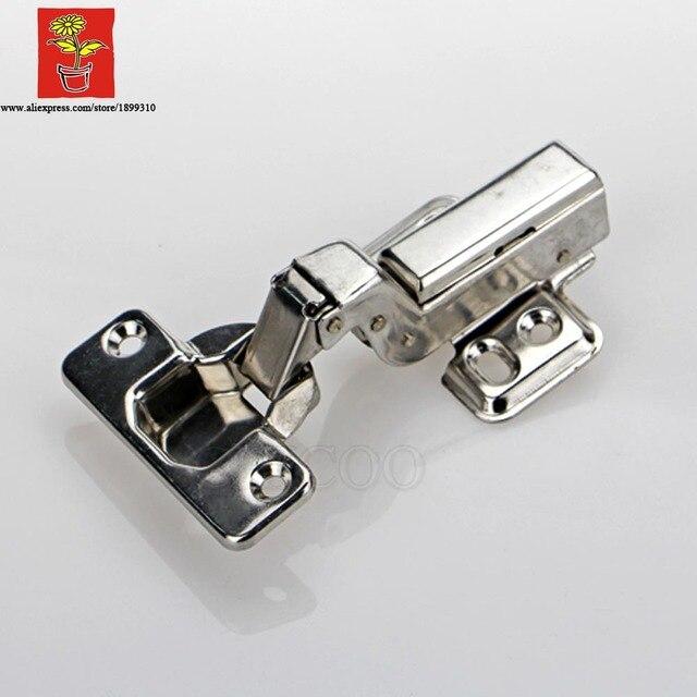 US $299.5 |50 pezzo in acciaio inox 304 nascondere regolabile inset  cerniera embed idraulico cerniera per mobili da cucina cabinet cerniere in  50 ...
