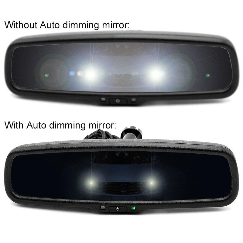 Greenyi Car Electronic Anti Glare Auto Dimming Rearview Mirror