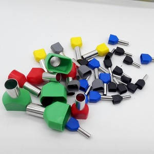 Image 5 - 780pcs    Dual Bootlace Ferrule teminator Kit Electrical Crimp Dual entry cord end wire terminal connector