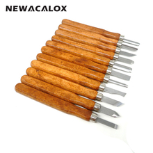 NEWACALOX DIY Chisel Scorper Sculpture 11PCS Carving Tools Multi function Wood Hobby Knife CRAFTS ARTS Hand Graver Cutter