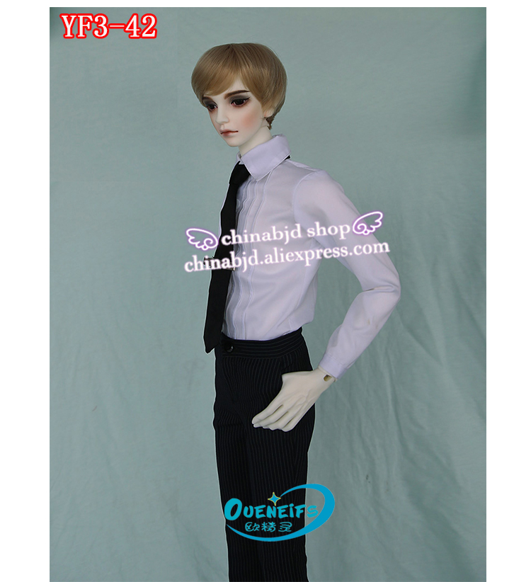 BJD SD Doll Clothes 1 3 Coat Waistcoat Necktie Business Suit Pants For SDGR dollSoom Iplehouse