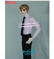 BJD SD Doll Clothes 1/3 Coat Waistcoat Necktie Business Suit Pants For SDGR isoom EID SID YF3 42 Doll Accessories