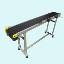 Небольшой конвейер несущей полосы ПВХ линии сортировки конвейер для бутылок/еда настроенной движущимся ремнем, вращающийся стол