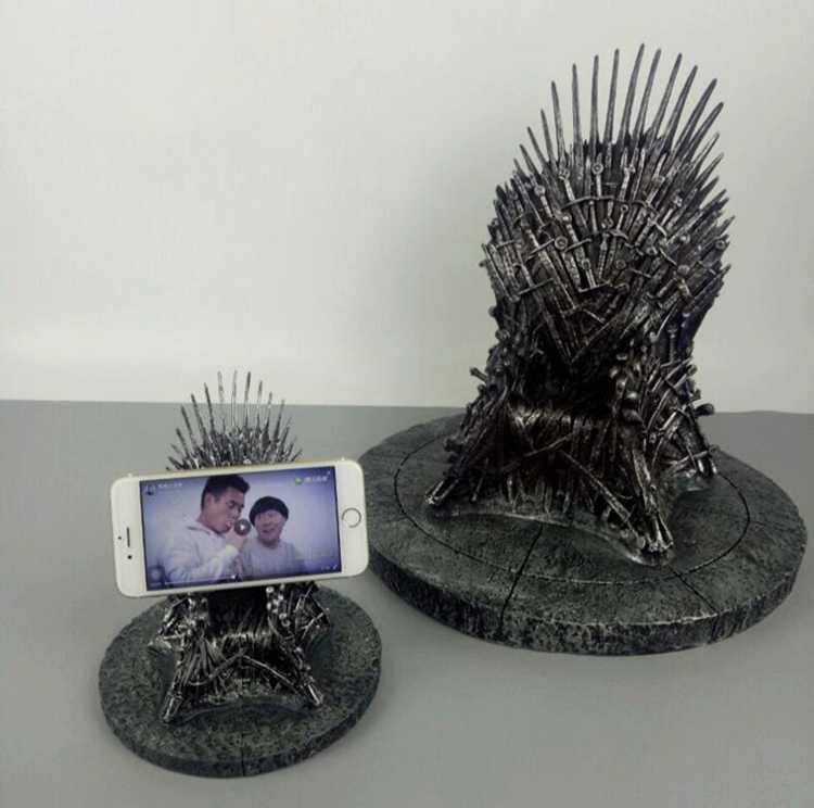 O Trono de Ferro Brinquedo Game of Thrones Resina Estátua Moderne 17 cm Ação & Escultura Figuras Brinquedos Presente de Natal de Alta Qualidade adultos