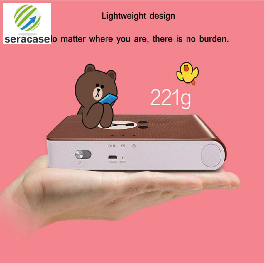 Image 5 - Android iOS smartphone color printer, mini wireless bluetooth photo printer, pocket color photo printer,for LG PD239SF printer-in Printers from Computer & Office
