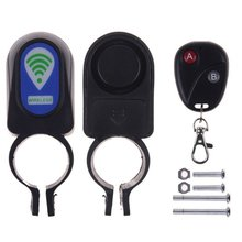 Useful Safety Lock Bicycle Cycling Security Wireless Remote Control Vibration Alarm H38
