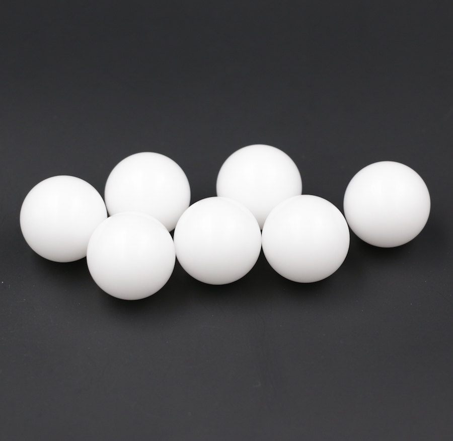 20mm 5 Pcs Delrin ( POM ) Plastic Solid Balls For Valve Components, Bearings, Gas/water Application