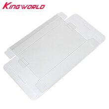 20 pces limpar transparente cartucho protetor para nintendo n64 cartão de jogo plástico pet caixa caixas