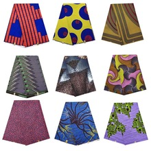 high quality veritable dutch real cotton wax african printed fabric 100% clothing V-L 130