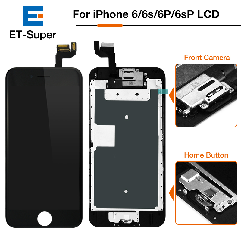 For Apple iPhone 6S Plus LCD AAA For iPhone 6 Plus OEM Display with Camera Speaker Button Spare Parts Complete LCD Screen AAA+++ image
