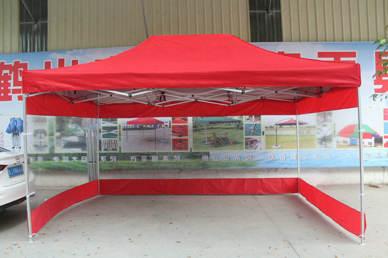 3*4.5m Outdoor Folding Advertising tents Sun shelter Gazebos with transparent waterproof  PVC side cloth harlem hl 956 convenient folding outdoor pvc pail bucket translucent white green 10l