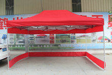 3 4 5m Outdoor Folding Advertising tents Sun shelter Gazebos with transparent waterproof PVC side cloth