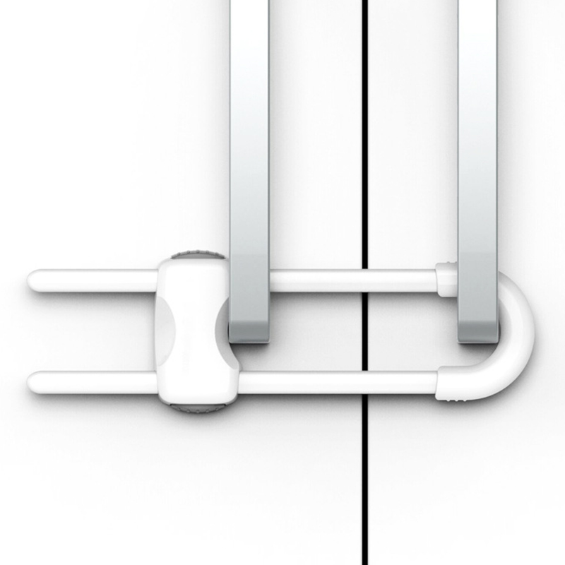 5Pcs Sliding Door Lock For Baby Safety Proof Child Pet Doors//Closets// Windows WT