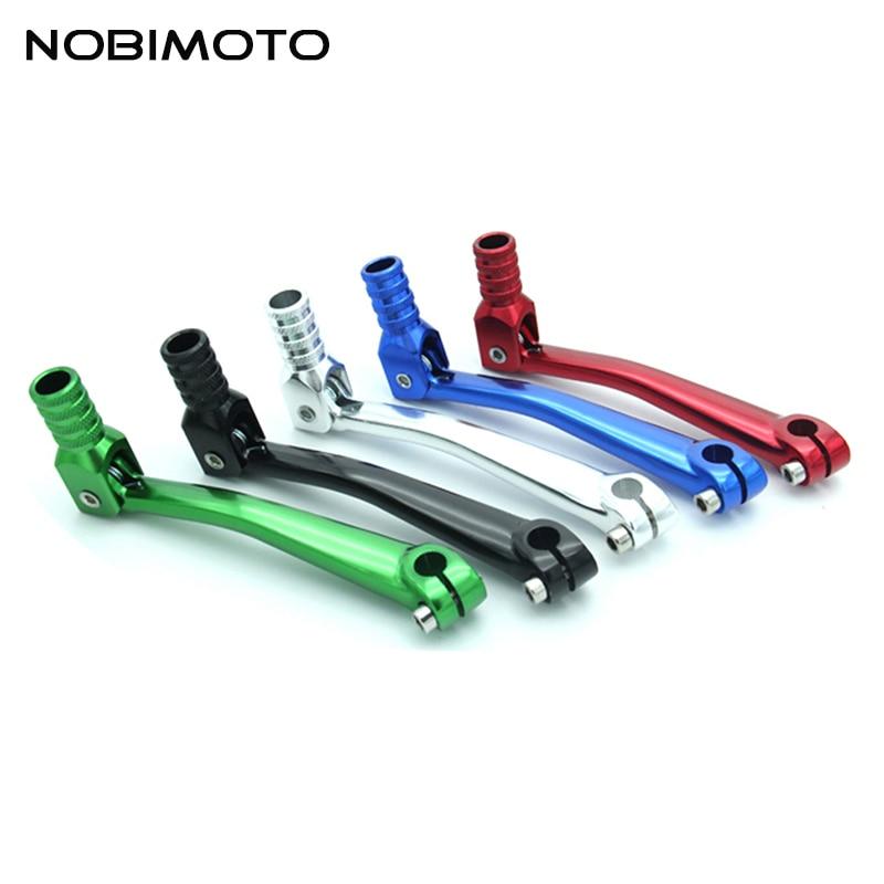 Schalthebel Schalthebel CNC Für 110cc 125cc  Dirt Bike Silber