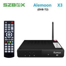 ALEMOON X3 DVB T2 Smart Digital Terrestrial font b Receiver b font casting H 265 Decoder