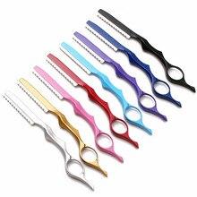 professional japan 440c 2 in 1 hair scissors cutting barber