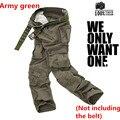 Hombres s Ejército táctico Militar de Camuflaje Pantalones de Carga Multi-bolsillo pantalones Causales Recta Larga Baggy Loose pantalones Trajes de carga