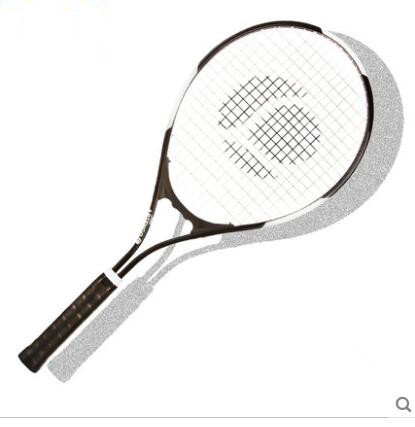 ФОТО Aluminum drills male Ms. beginner tennis racket single adults