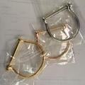 Hot Sells New Miansai Designs Fashion Gold Jewelry Miansai Style Stainless steel Screw Cuff Bracelet Bangle