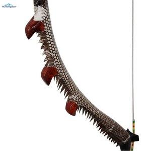 Image 5 - Okçuluk olimpik yay geleneksel ahşap yay ağırlığı 35lbs,40lbs,45lbs,50lbs açık av yayı 57 inç kaldırma ve sağ yay yetişkin için