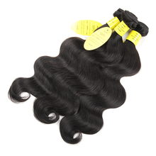 QueenLike Human Hair 3/4 Bundles Brazilian Body Wave With Closure Non Remy Ear To Ear Lace Frontal Closure With Bundles