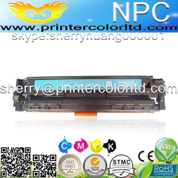 Kompatibel color toner patrone cb540a-cb543a cb530a 125a 4 color für hp laserjet...