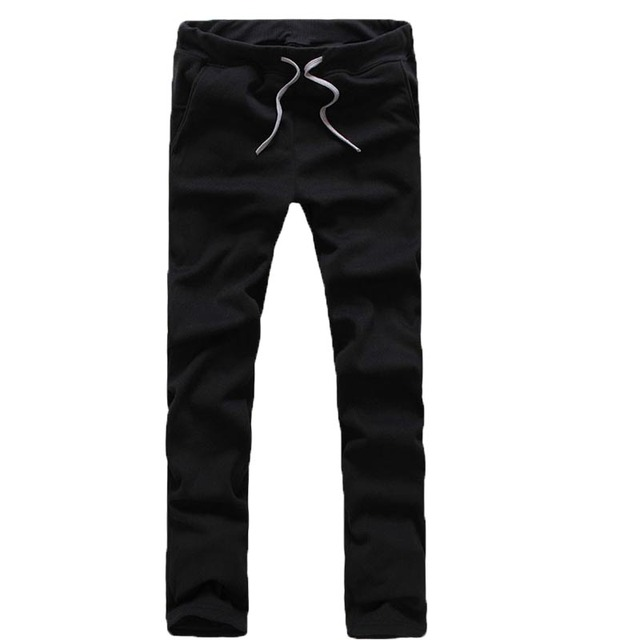 Hot Sale! Fashion Design Male Straight Trousers, Spring and autumn Solid Color men  pants, Men's Casual  Pants  A37