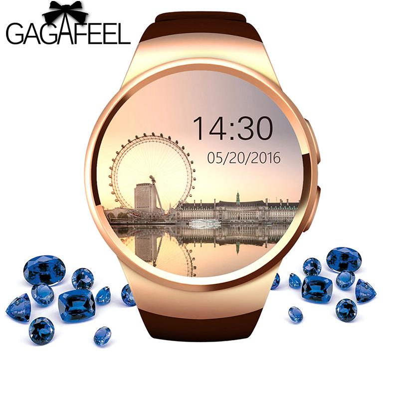 Gagefeel KW18 Smart Watch With a Sim Card Bluetooth Phone fitness bracelect Heart Rate Monitor Smart watch for Android iOS