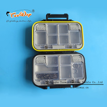 12 Compartments Waterproof Storage Case Fly Fishing Lure Spoon Hook Bait Fishing Tackle Boxes Can Put in Fishing Bag