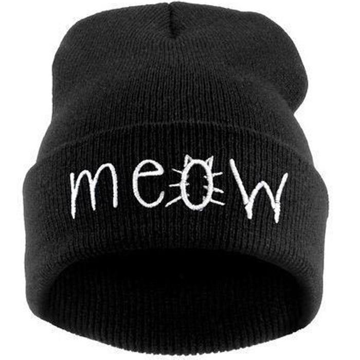 2015 autumn & winter hat Fashion women hats caps beanie skullies for men unisex Winter hats for women gorros Letter cat Cap 2016 new fashion letter gorros hats bonnets