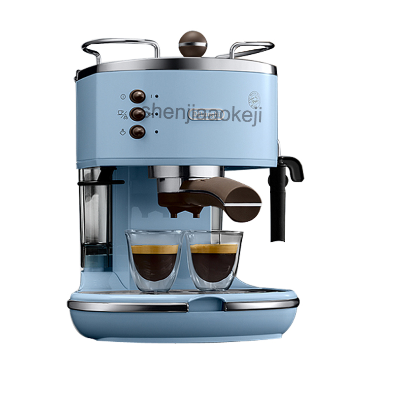 Italian semi-automatic coffee machine pump type coffee machine Manual fancy coffee 220V (50Hz) 1100W 1pc semi automatic italian coffee machine pump type coffee machine manual fancy coffee 220v 50hz 1100w 1pc