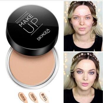 Professionnel Foncé Peau Fondation Visage Pleine Couverture Crème Pas Cher Maquillage Palette Visage Correcteur Anti-cernes Camouflage Maquillage