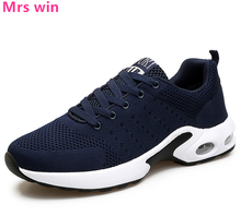 New Lightweight Men Air Running Shoes Breathable Men Sneakers Flyknit Sport Shoes Outdoor Athletic Walking Jogging