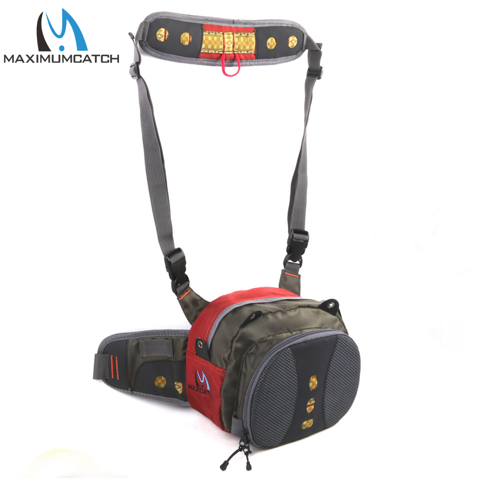 Maximumcatch Fly Fishing Waist Pack Bag Fishing Pack Tackle Bag Fishing Waist Pack V-comf Fishing Bag maximumcatch fishing sling back pack outdoorsport fly fishing sling bag with fly patch