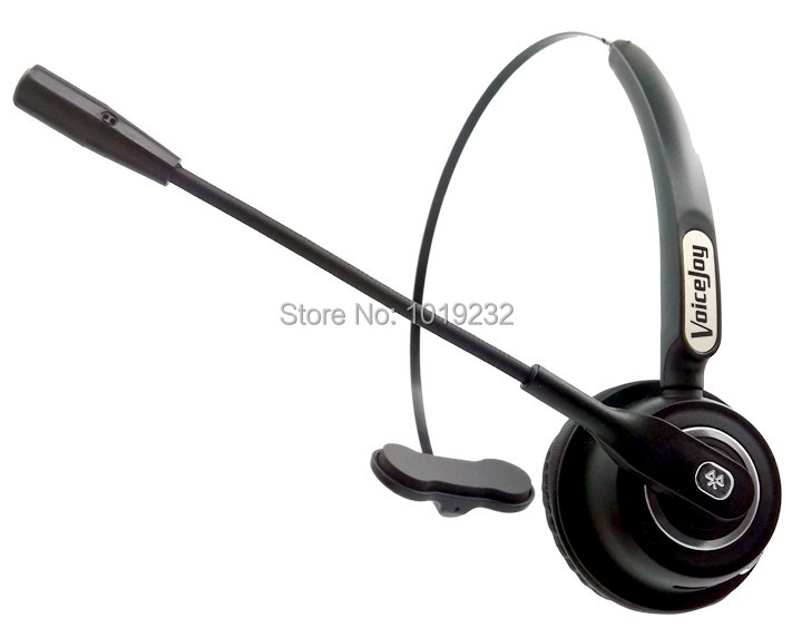 bilder für Bluetooth Headset, drahtlose Bluetooth Ohrhörer mit Mikrofon, über den Kopf Headset für Handy, Call-Center, VoIP, Skype, musik